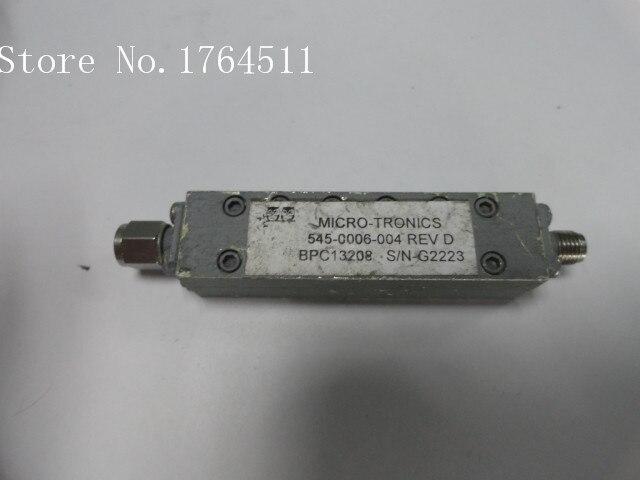 [BELLA] MICRO-TRONICS 545-0006-004 13.7-14.5GHZ RF Bandpass Filter SMA