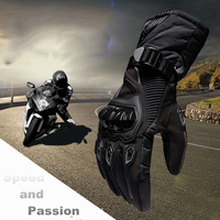 New Winter Motorcycle Gloves Warm Waterproof Protective Sports Guantes Luvas Riding Motorcycle Riders Anti Fall Off