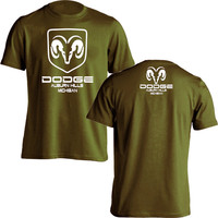 Mode Dodge Ram Truck Volledige Icoon T-shirt Mens Black Katoen size s-3xl print korte mouwen o hals t-shirt merk clothing tops Tee