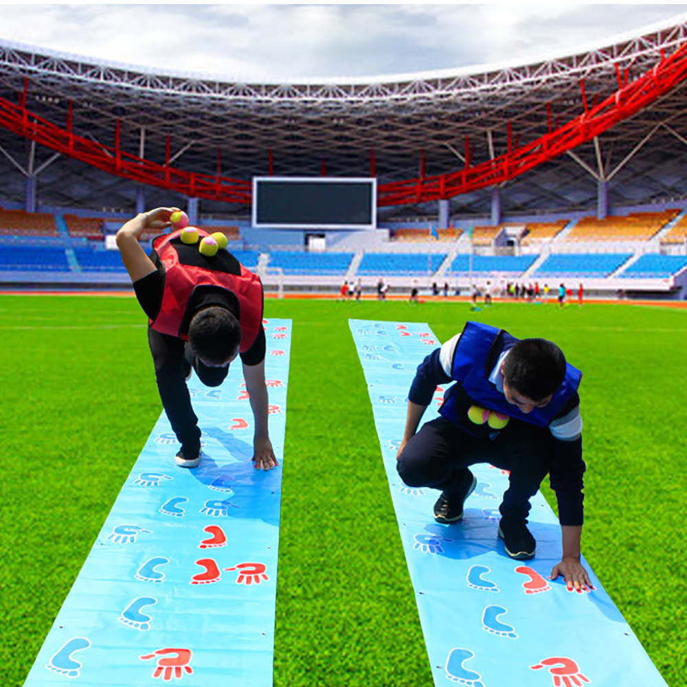 Children's Hands And Feet And Game Mats Fun Games Props Team Activities To Build Outdoor Toys Development Training