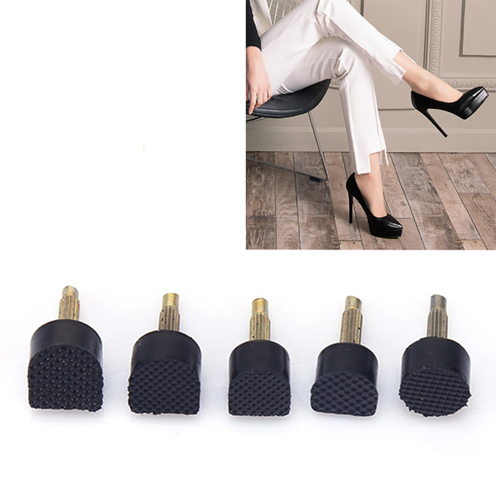 60pcs Hard High Heel Tips Repair Stoppers Replacement Taps Anti Slip Stiletto Lady Durable Protector Tool Dowel Lifts Shoes60pcs Hard High Heel Tips Repair Stoppers Replacement Taps Anti Slip Stiletto Lady Durable Protector Tool Dowel Lifts Shoes