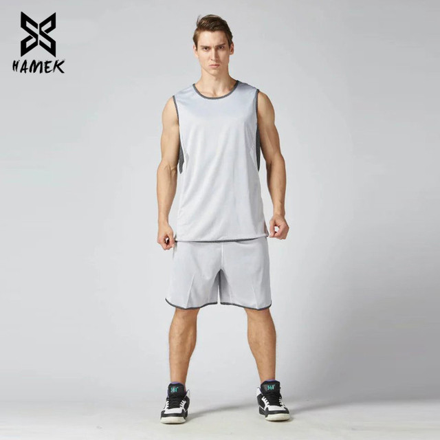 Basketball Set Uniforms Training Suits Running Breathable Sports Set