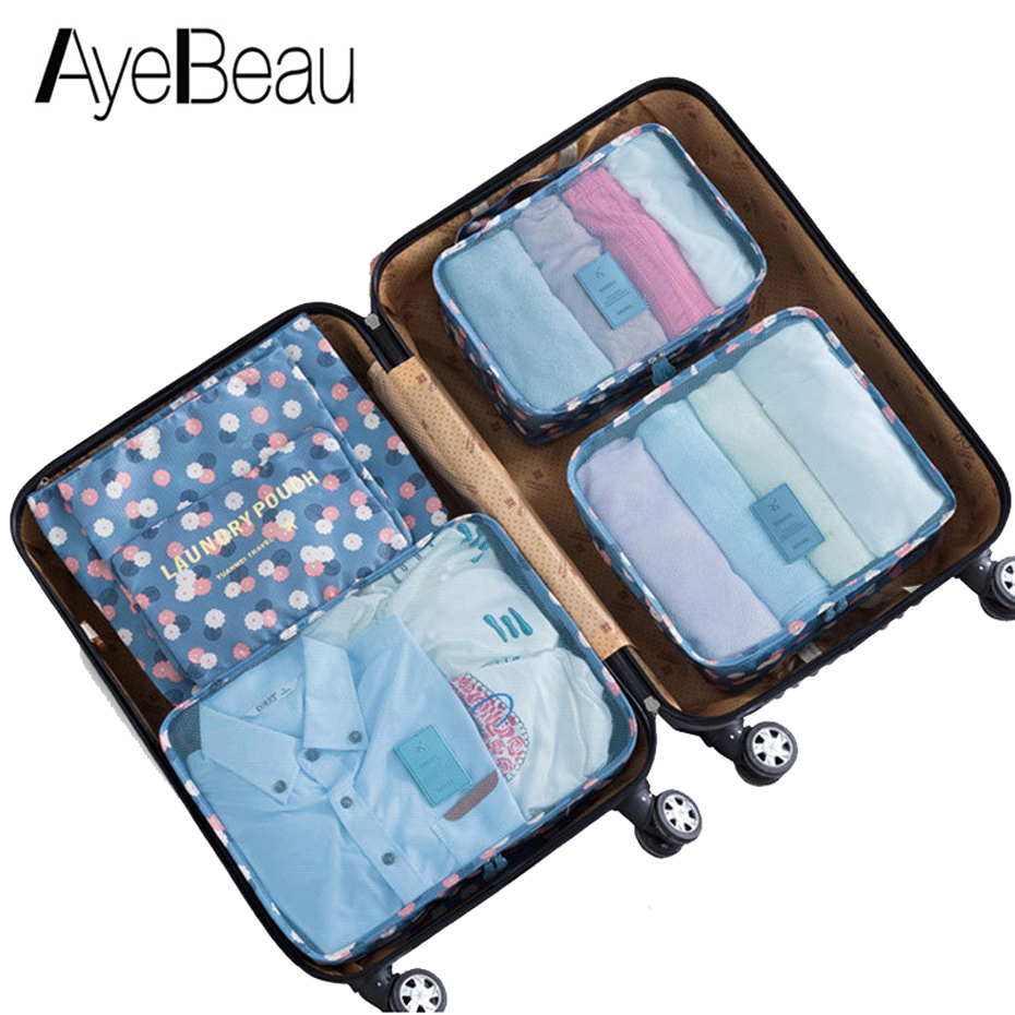 Packing Cubes Luggage Travel Bag Women Duffel Weekend Duffle Large Organizer Female For Overnight Weekender Cases Sac De Voyage