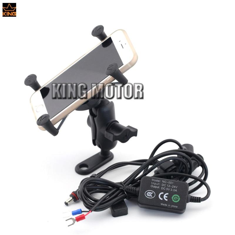 Для KTM герцог 125 200 390 690 690Р мотоцикл навигации мобильный телефон держателя кронштейна с USB зарядное устройство