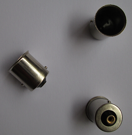 BAY15S lamp holders and lamp bases socket for auto light bulb rohs compliance