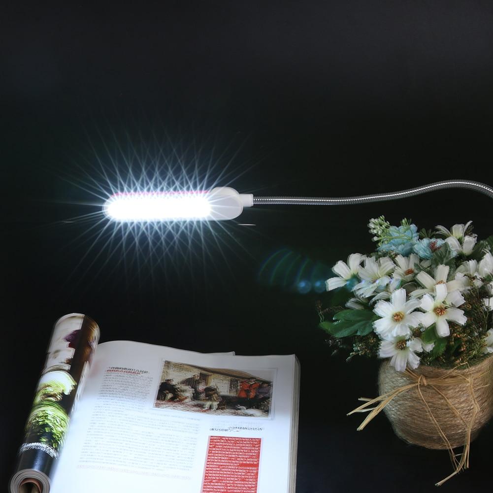 Adjustable Ultra 7 LED USB Desk Light Eye-Protection LED Lamp Flexible USB Night Light for Notebook Computer Desktop PC laptop