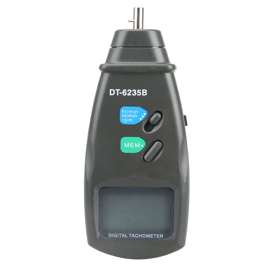 DT6235B Digital Contact Rotational Tachometer RPM Meter Surface Speed Meter  Gauge Measuring Instrument  цены