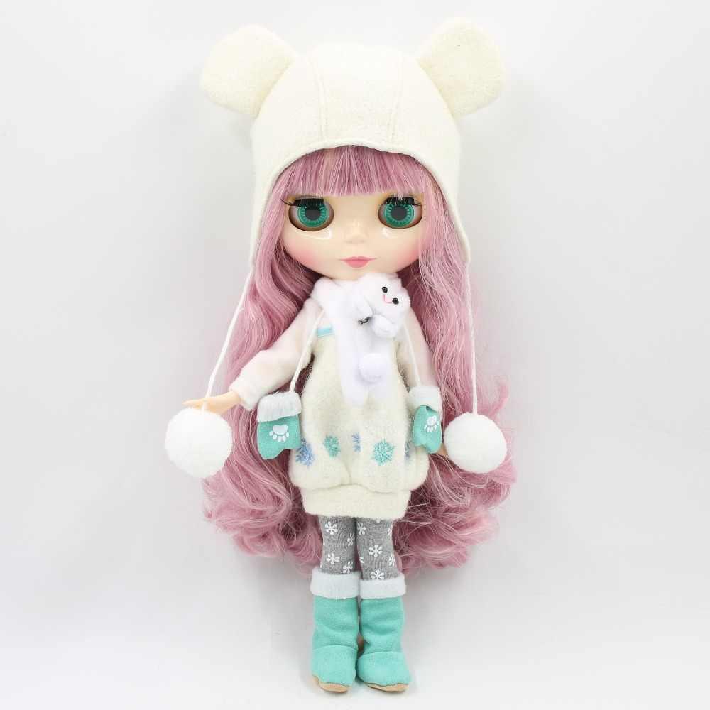 Фабрика 1/6 blyth кукла игрушка bjd соединение тела микс розовые волосы белая кожа шарнир тела подарок 1/6 30 см 280BL1063/2352, голая кукла