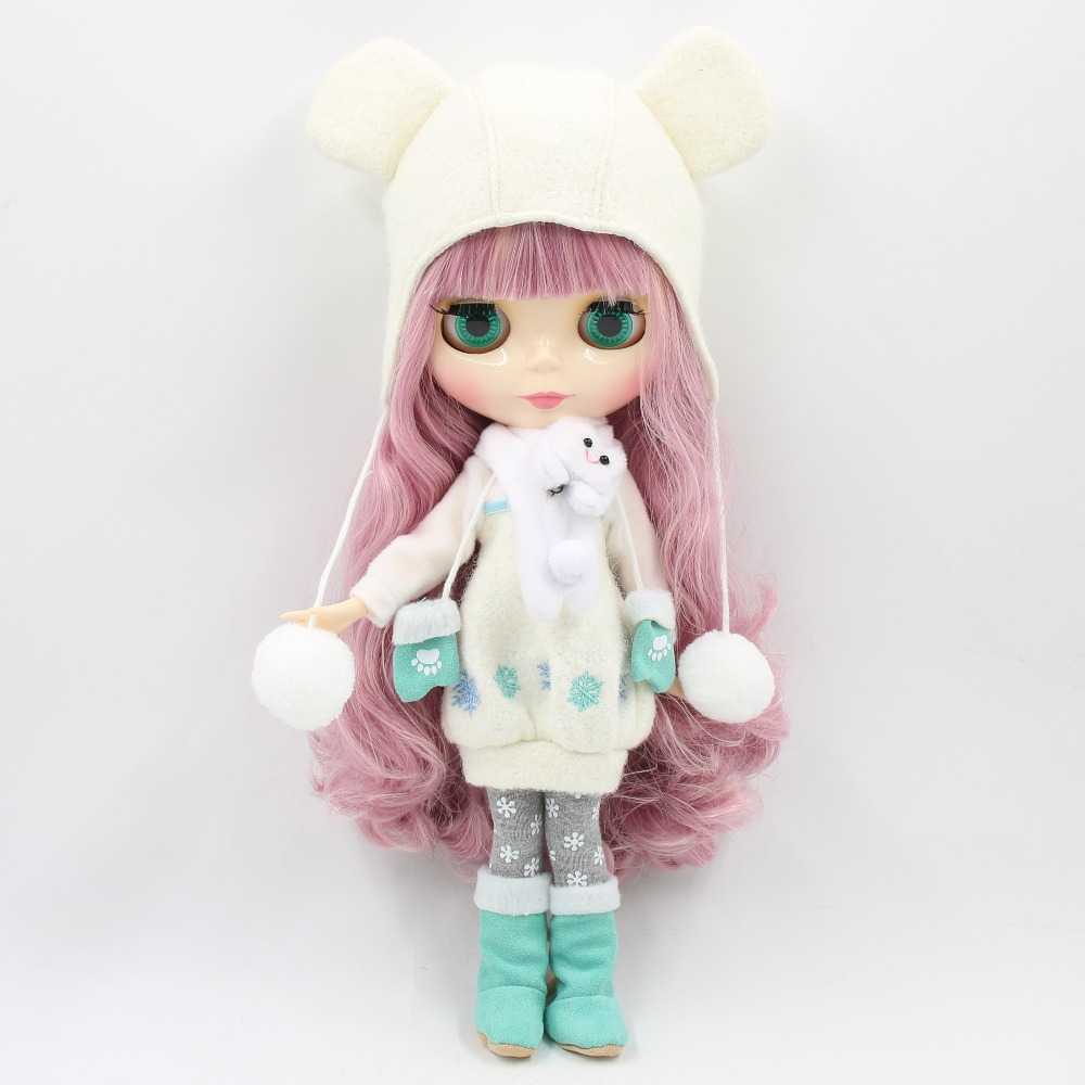 Image 5 - factory 1/6 blyth doll toy bjd joint body mix pink Hair white skin joint body gift 1/6 30cm 280BL1063/2352, naked dollDolls   -