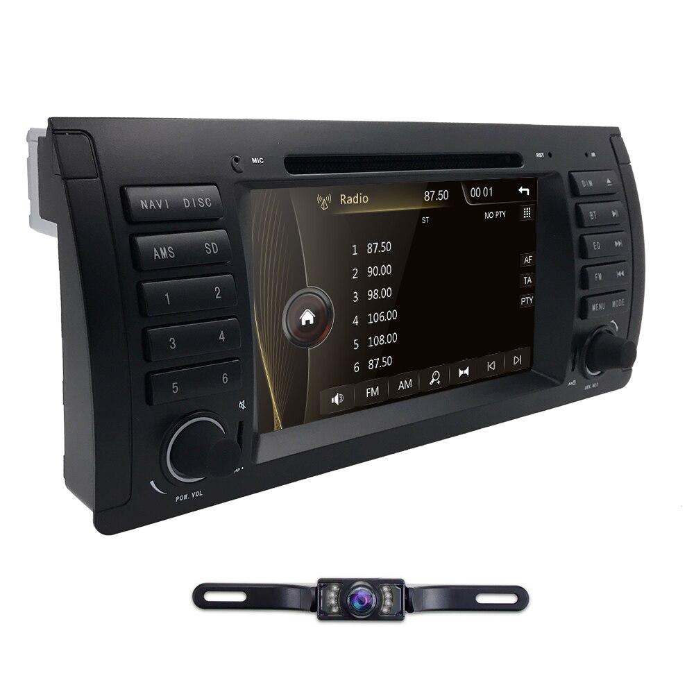 Livraison gratuite 1Din lecteur DVD de voiture pour BMW E53 E39 X5 DVD autoradio GPS Navigation pour E39 BMW 7 pouces Bluetooth système Audio de voiture