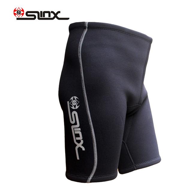Slinx men's wetsuits short pants 2mm neoprene diving shorts for rash guard surfing snorkeling  swimming surf trunk