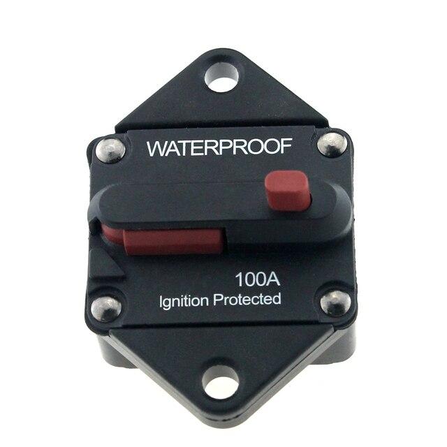 waterproof 48v dc 100 amp car truck rv marine boat bus circuit rh aliexpress com