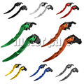 For 2003-2014 Ducati Monster 400 696 796 695 S2R 800 620 MTS ST4S Motorcycle Racing Adjustable Blade Brake Clutch Levers