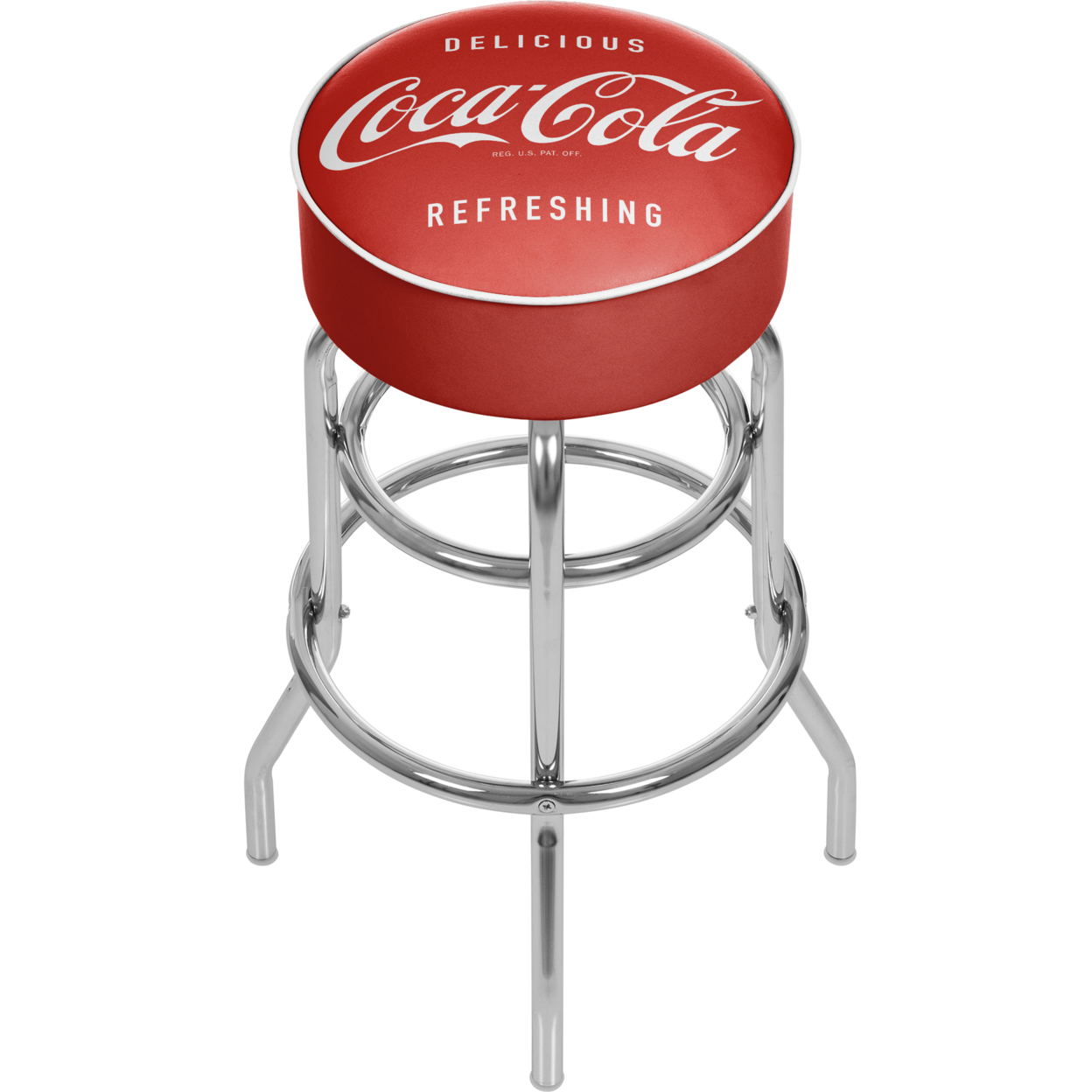 Coca Cola Vintage Padded Swivel Bar Stool 30 Inches High coca cola vanilla нижний новгород
