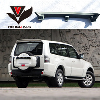 VOE Pajero ABS Plastic Material Unpainted Primer Car styling Rear Wing Spoiler for Mitsubishi Pajero V73 2007 2015