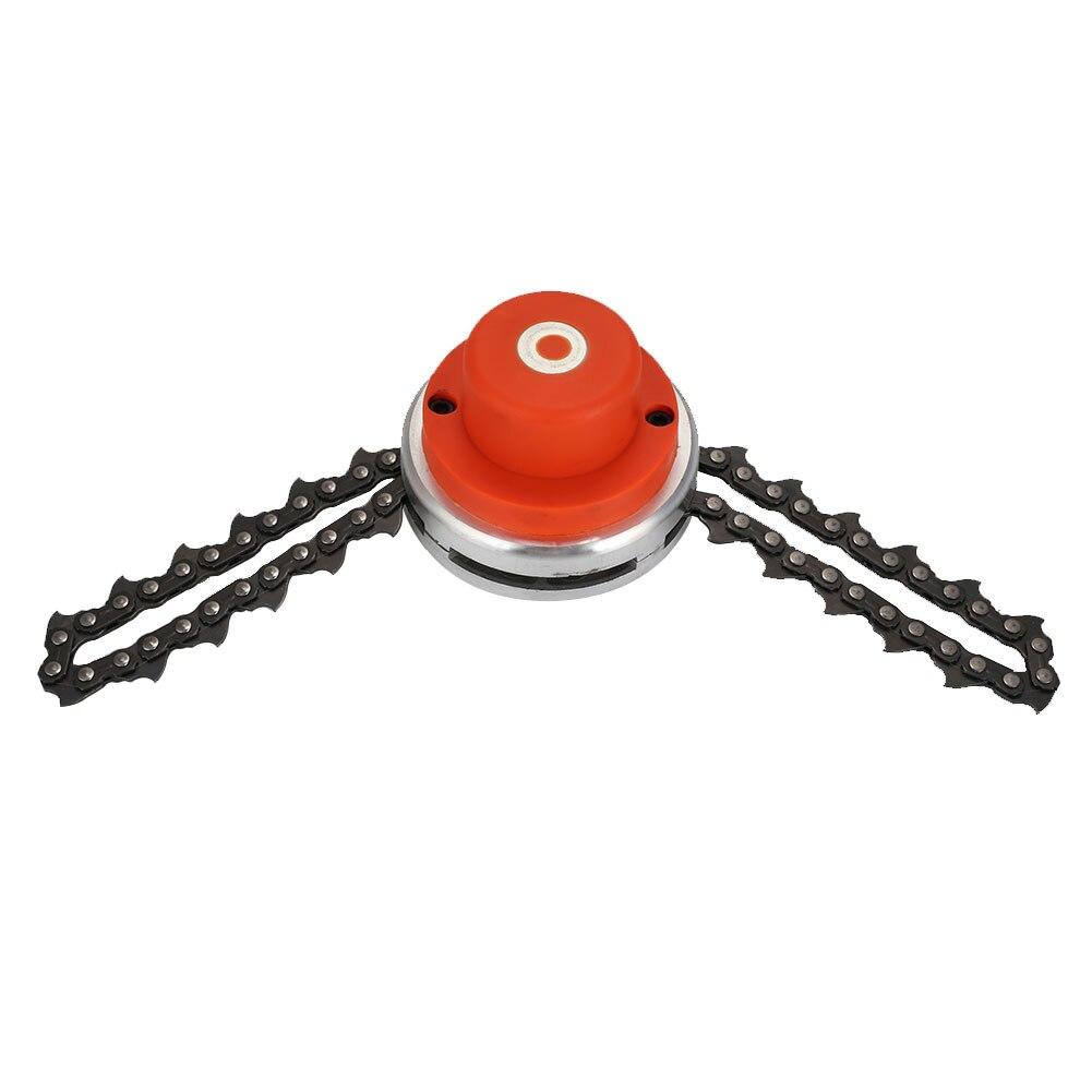 Триммер головка многофункциональная цепная косилка цепь садовая домашняя прочная металлическая портативная