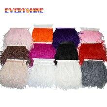 1 м/лот отделка страуса Бахрома пушистый из страусовых перьев ленты перья свадебная одежда юбка украшения IF40