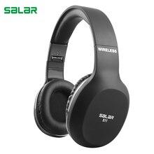 S11 Salar Fones de Ouvido Sem Fio Bluetooth Dobrável Fone De Ouvido Fone De Ouvido Fones De Ouvido Com Microfone Ajustável Para PC mobile phone mp3
