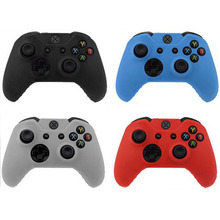 4Colors Silicone Gel Soft Gamepad Joypad Protective Cover Case For Microsoft Xbox One Controller Body Protector Skin Shell
