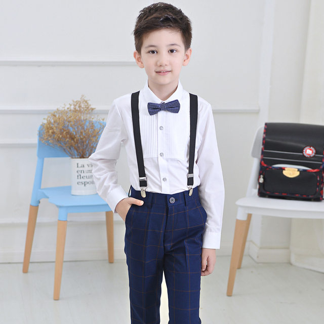 Online Shop Kids Prom Suits Wedding Suits Kids Tuexdo Children ...