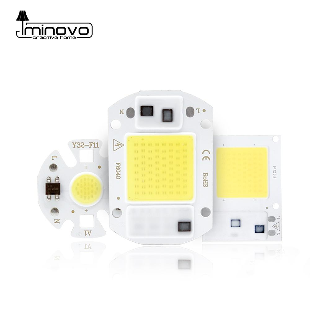 <font><b>LED</b></font> <font><b>COB</b></font> <font><b>Chip</b></font> Smart IC Integrated Diode Bulb Y32 Spotlight 110V 220V No Driver DIY Light 10W <font><b>50W</b></font> 70W 100W 150W Floodlight Lamp image