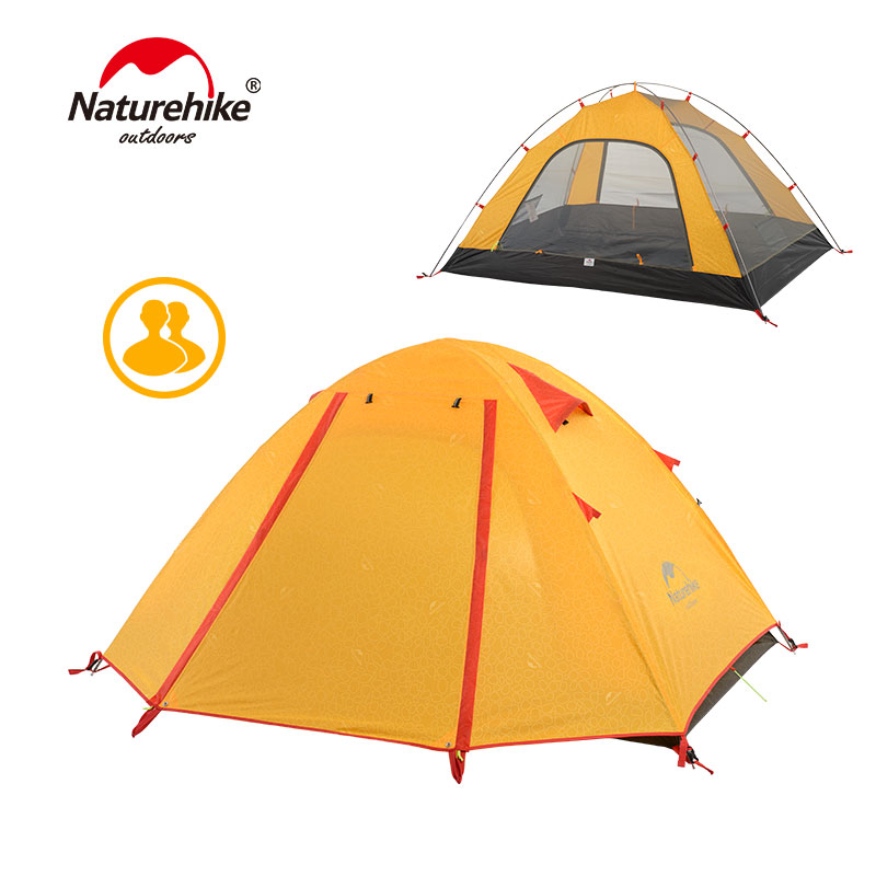 NatureHike P Series Classic Camping Tent 210T Fabric For 2 Persons NH15Z003-PNatureHike P Series Classic Camping Tent 210T Fabric For 2 Persons NH15Z003-P
