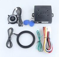 Универсальный автомобильный аварийная система с rfid-передатчик иммобилайзер, кнопка старт стоп и тревоги/снятия, состояние автомобиля памя...
