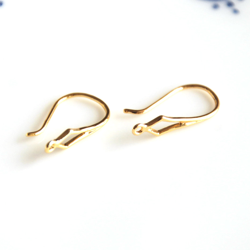 """Pewter Gold Miner Pan Hook Ear Wire Earrings ~ Hypo-Allergenic Light Appx 1/"""" NEW"""