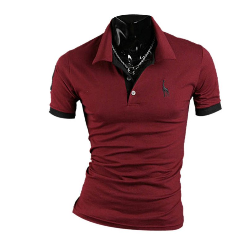 2018 Men Stylish Slim Fit Short Sleeve Casual 10 colors V neck Men's   T     Shirt   Men Fashion Tshirts Fitness Casual For Male   T  -  shirt