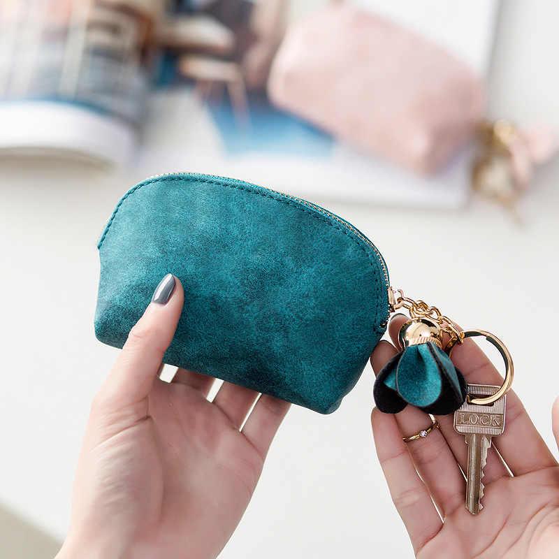 PipiFren ขนาดเล็กกระเป๋าสตางค์ผู้หญิงสั้นกระเป๋าสตางค์มินิกระเป๋าสตางค์หญิงน่ารักคลัทช์กระเป๋า portefeuille