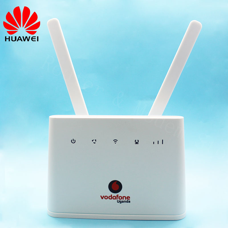 Unlocked Original HUAWEI B310 B310S-22 4G LTE CPE WIFI ROUTER Modem With Antenna150Mbps FDD 800/900/1800/2100/2600MHZ huaweiB310