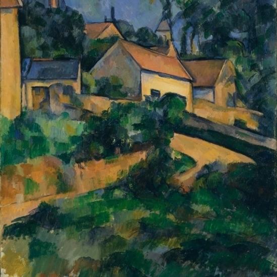 La Route Tournante Montgeroult Poster Print by Paul Cezanne (24 x 36)