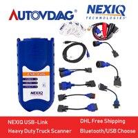 2018 NEXIQ Автоматический Тяжелый грузовик сканер инструмент NEXIQ USB Link Nexiq 125032 USB Link NEXIQ2 USB/Bluetooth лучше, чем DPA5