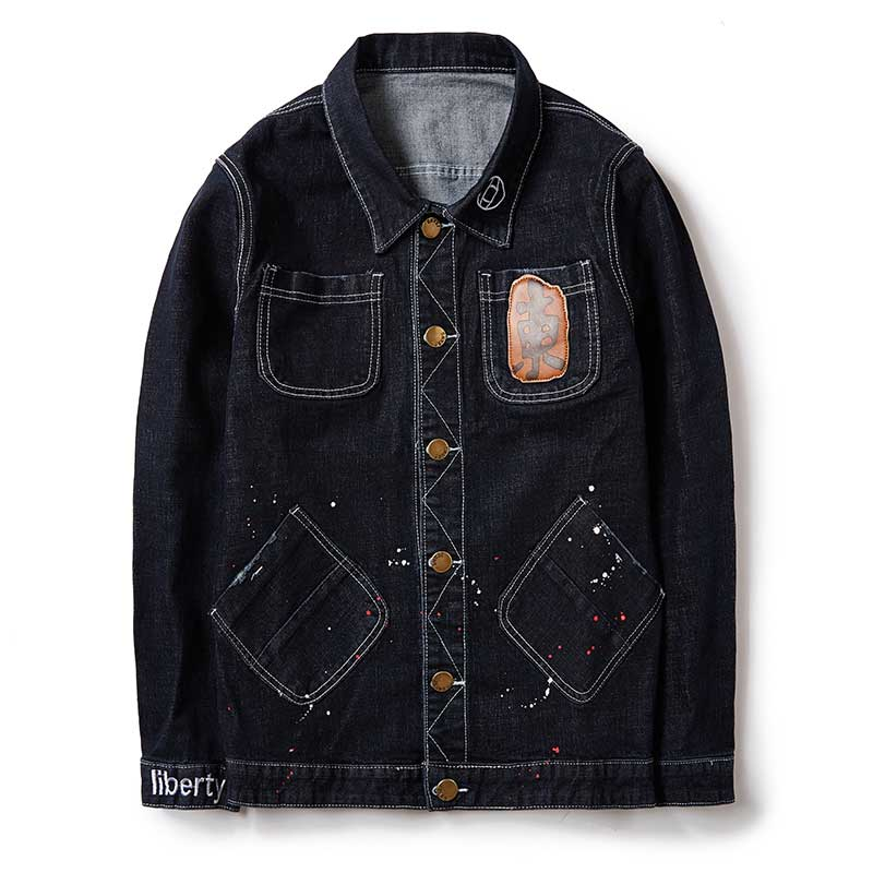 2f263393fdb 2017 Autumn Plus Size Men s Denim Jacket Oversize Outerwear Trucker Black  Male Jeans Jacket Masculino Large Size M 8XL-in Jackets from Men s Clothing  on ...