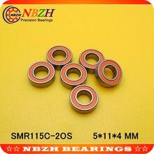 Гибридный Керамический шарикоподшипник из нержавеющей стали SMR115 2RS SMR115C-2RS CB ABEC7 LD SMR115 2OS SMR115C-2OS 5*11*4 мм