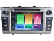 Octa (8)-Core Android dvd-плеер АВТОМОБИЛЯ ДЛЯ TOYOTA AVENSIS 2008-2013 car audio gps стерео головное устройство Мультимедиа навигация