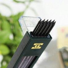 10 шт./кор. Творческий 2 мм 2b HB черный 2.0 мм механический карандаш свинца пополнения 120 мм Бесплатная доставка