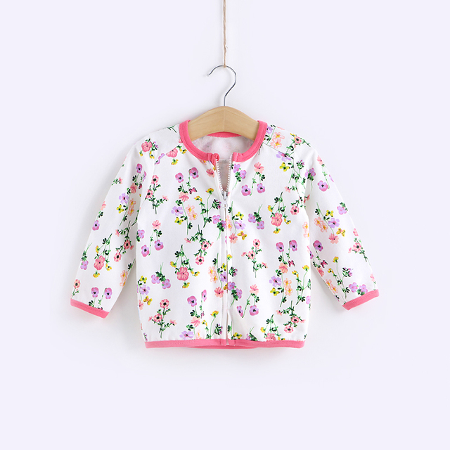 2016 primavera 0 - 2 anos de idade do bebê roupas TongWei crianças zipper casaco casaco bebê meninas primavera 100% algodão