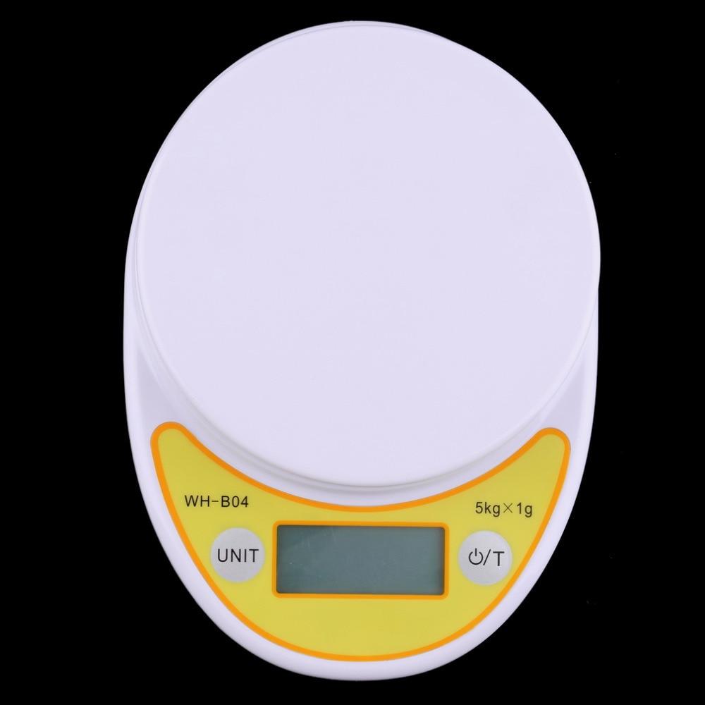 Hot Weltweit WH-B04 5 kg/1g LCD Digitale Elektronische Küchenwaage ...