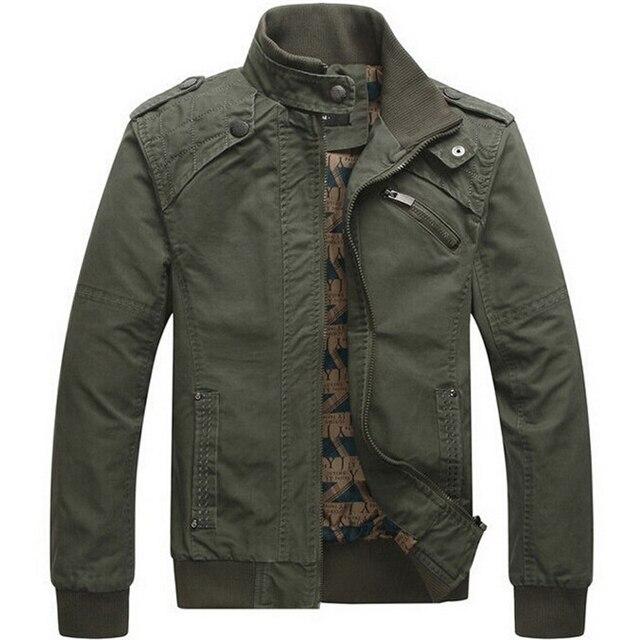 Aliexpress.com : Buy Men jacket Casual cotton washed coats Army ...