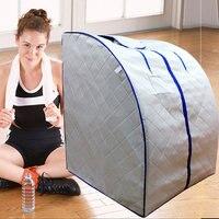 infrared sauna portable foldable infrared sauna mini sauna set free shipping