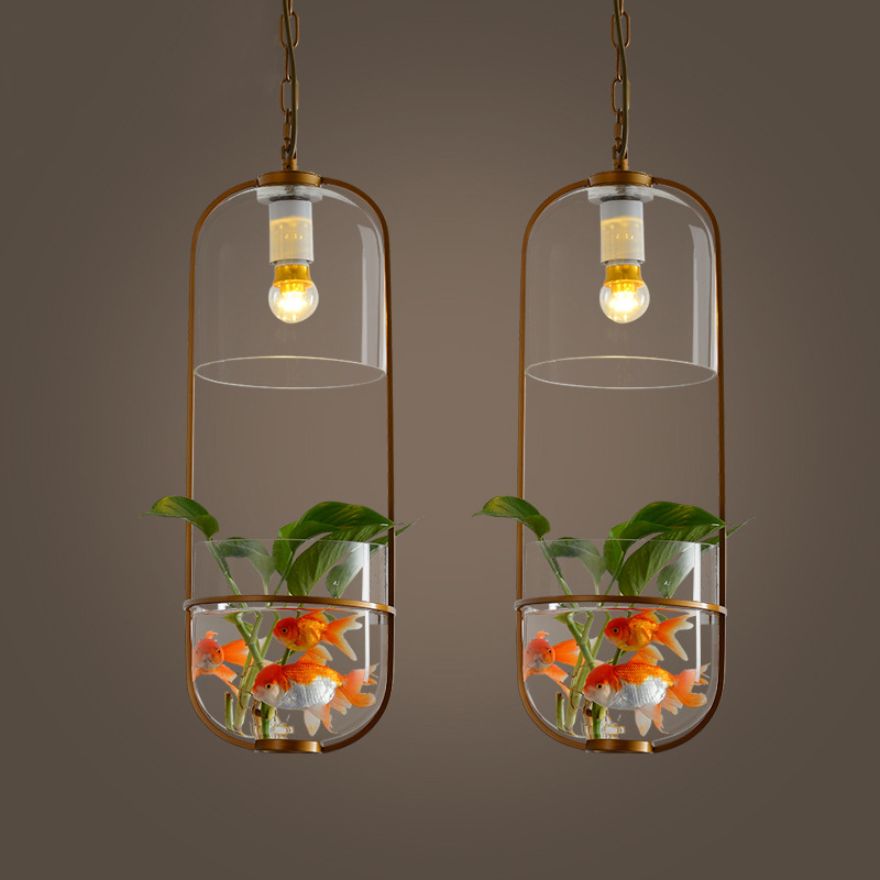 Nordic minimalist glass restaurant, bar, bed, balcony, corridor, home fashion plant clothing store ChandelierNordic minimalist glass restaurant, bar, bed, balcony, corridor, home fashion plant clothing store Chandelier