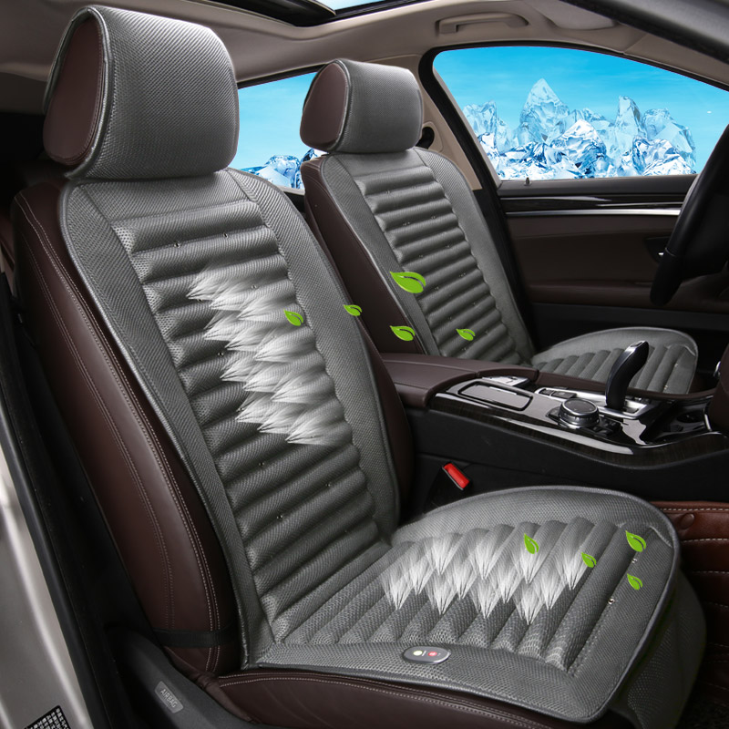 Built-In Fan Cushion Air Circulation Ventilation Car Seat Cover For Cadillac ATS CTS XTS SRX SLS Escalade Series Car pad