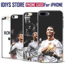 For Apple iPhone 7PLUS 7 6SPLUS 6S 6PLUS 6 5 5S SE 4 4S Cristiano Ronaldo Cr7 Best Football Player Phone Case Cover Shell Bag