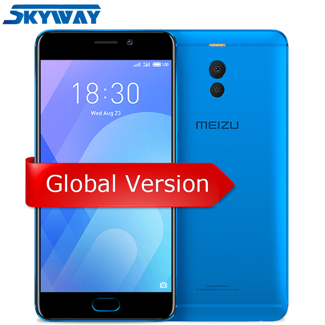 Original Meizu M6 Note Global Version 3GB 16GB 32GB Cell Phone Snapdragon 625 Octa core 5.5'' Dual PD Camera 4000mAh Fingerprint