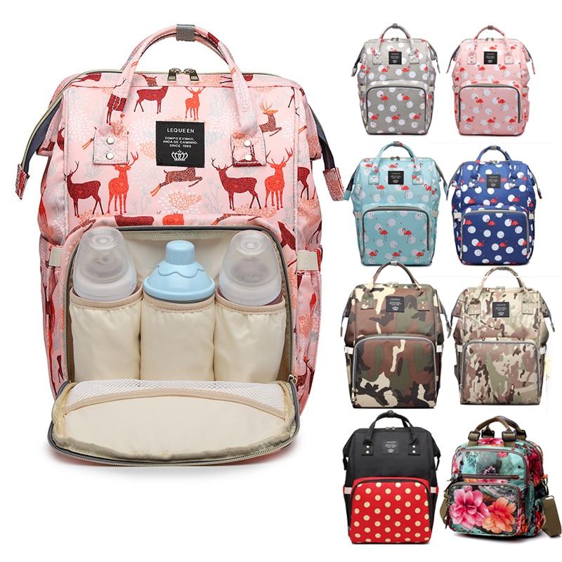Mommy Bag Diaper Large Capacity Baby Bag Travel Nappy Diaper Backpack Waterproof Anti-loss Maternity Bag Handbags For Moms