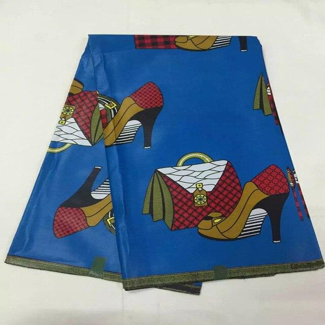 Royal Blue Color African Java Wax Prints Guaranteed Pattern Super Print Fabric Real