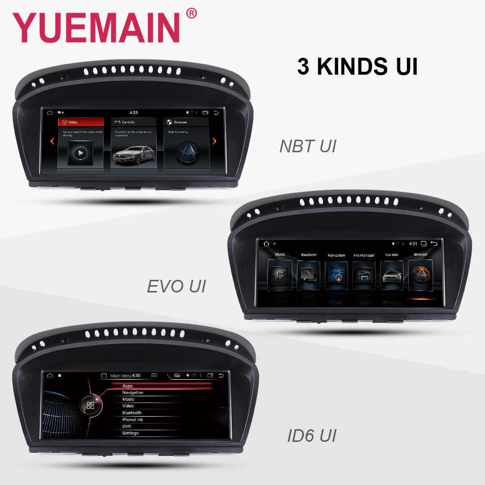 Android 7,1 автомобильный dvd-плеер для BMW 5 серии E60 E61 E62 E63 3 серии E90 E91 CCC/CIC система Авторадио gps навигация Мультимедиа