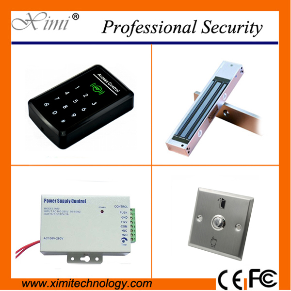 Cheap standalone without software F008 card access control single door access control with electromagnetic lock