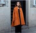 Novo espessamento inverno algodão grande fundo clássico Casacos & Coats loose Women casual Down & Parkas roupas 87059